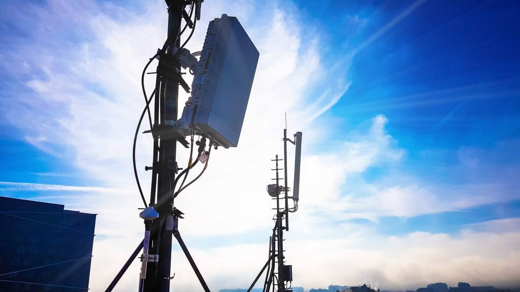 A Microwave Radiating Antenna (stock photo).