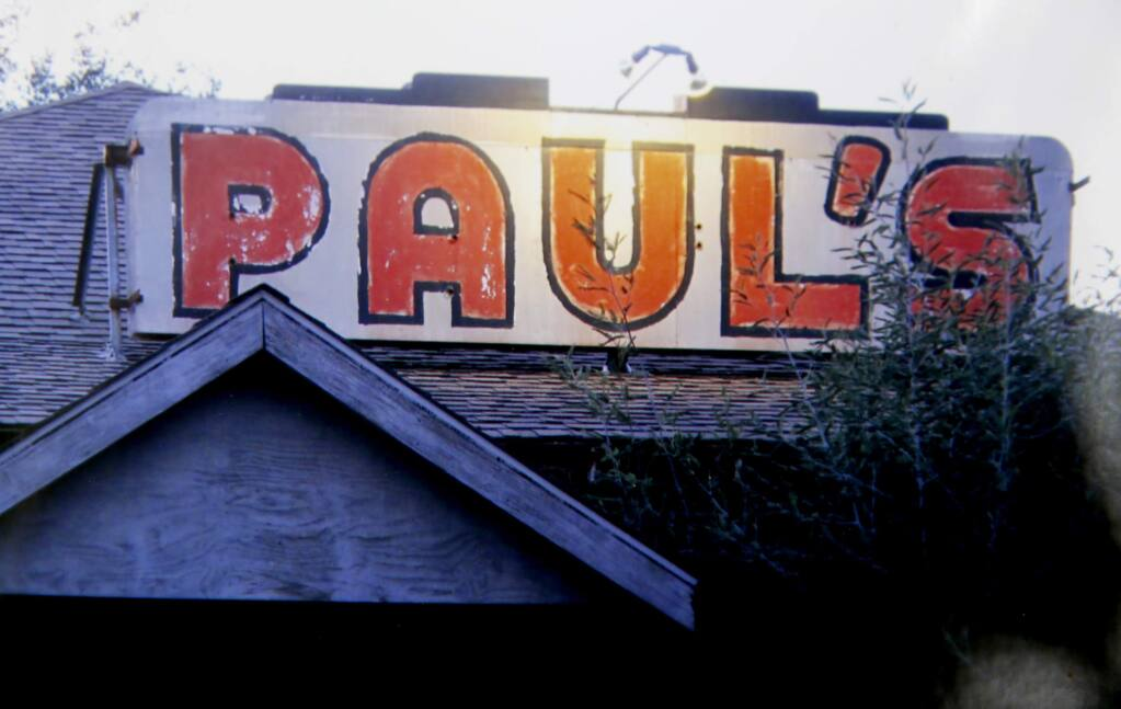 An undated photo of the dance hall at Paul's Resort before it burned in March 2013.. (Photo courtesy of Yvonne Marcucci-Thibault)