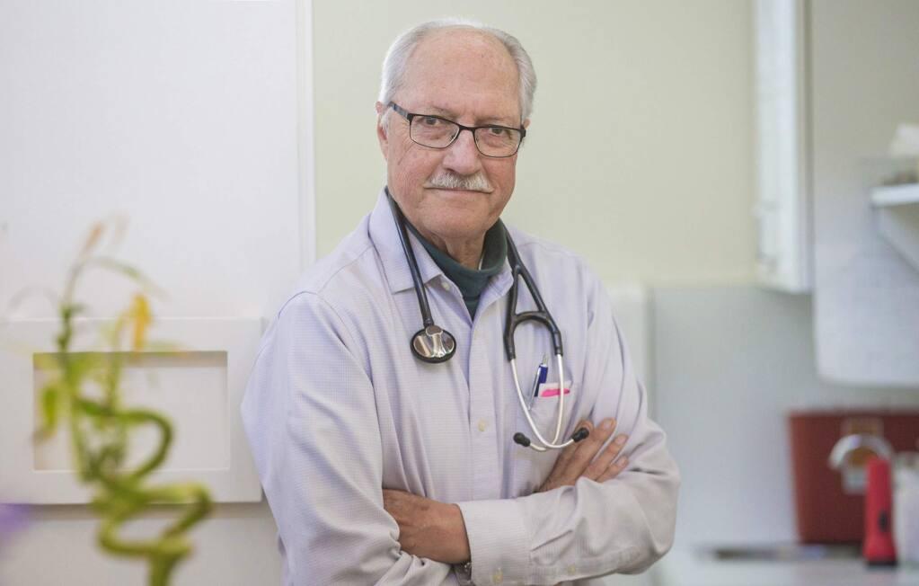 Dr. Clinton Lane (ROBBI PENGELLY/ SONOMA INDEX-TRIBUNE)