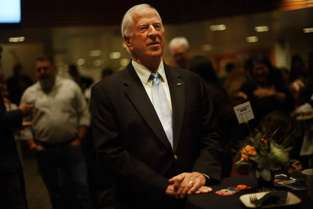U.S. Rep. Mike Thompson, pictured here in 2019, recently picked up some specialty Wine Country Chocolates. (Photo: Erik Castro/for The Press Democrat)