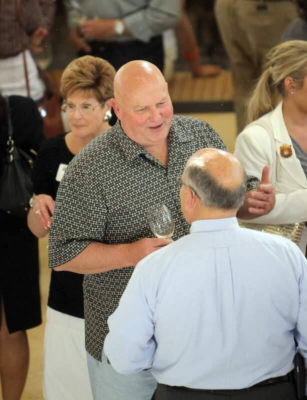 Former Sonoma County Supervisor Eric Koenigshofer attended the kick-off fundraiser for District Attorney Jill Ravitch at the Kendall Jackson Wine Center in Santa Rosa on Thursday night, June 13, 2013. (John Burgess/The Press Democrat)