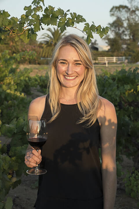 Lauren Wong, 36, vice president for sales and marketing, Aperture Cellars, Healdsburg, is a North Bay Business Journal 2021 Forty Under 40 winner. (Andy Katz photo)