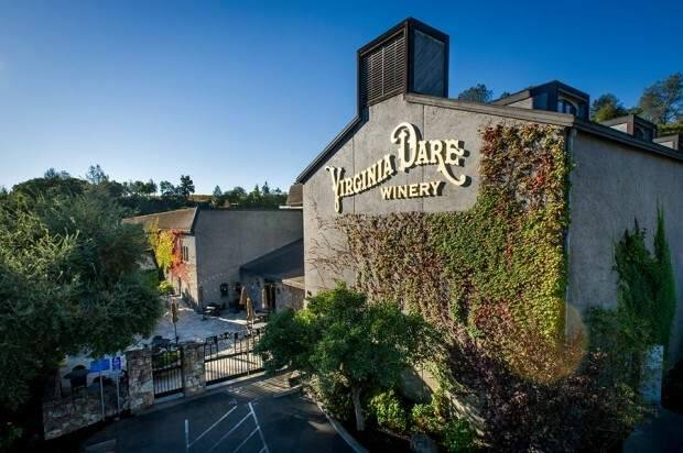 Virginia Dare Winery brands, located in located in Geyserville in Sonoma County, among the Coppola assets acquired by Napa-based Delicato.