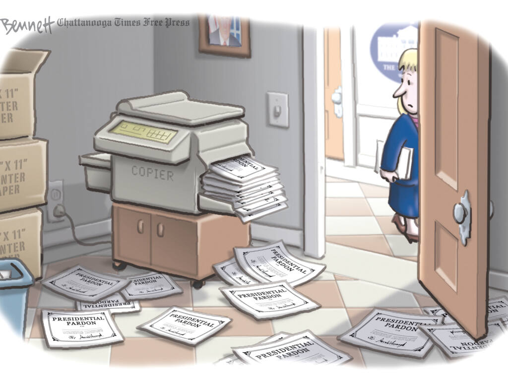 CLAY BENNETT / Chatanooga Times Free Press