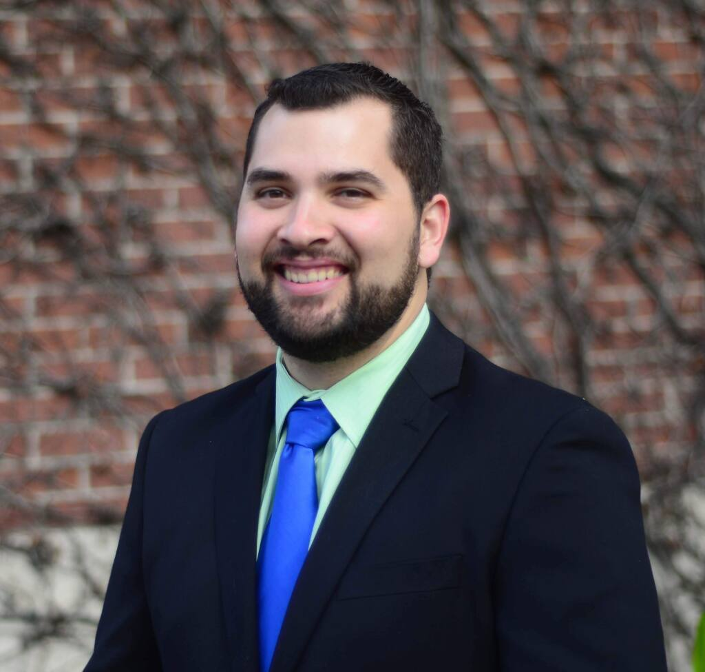 Jordan Burns, candidate for Santa Rosa Junior College's board of trustees