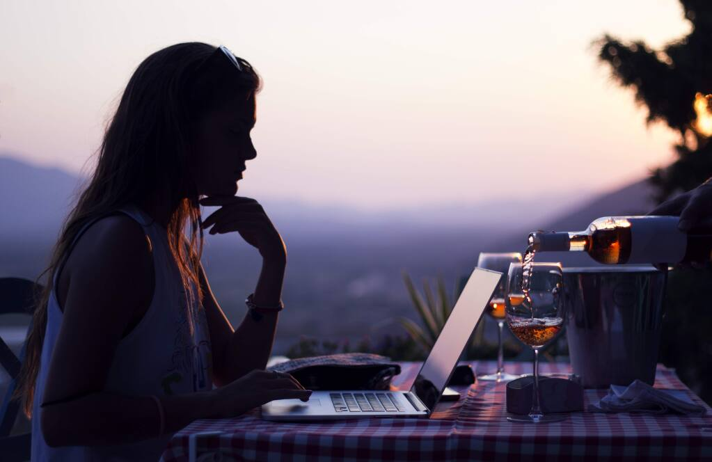 Coronavirus-inspired restrictions have forced wineries to maintain connections with customers in ways different from the traditional tasting rooms, including creating content over the web.