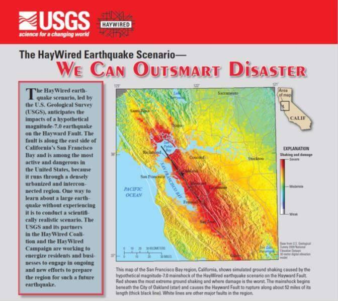 Report Sees Big Bay Area Earthquake Impacts