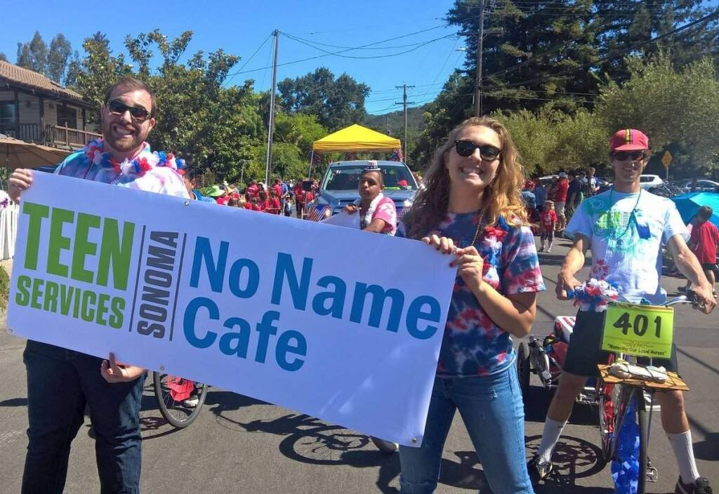 The No Name Cafe is one of several Teen Services micro-businesses.
