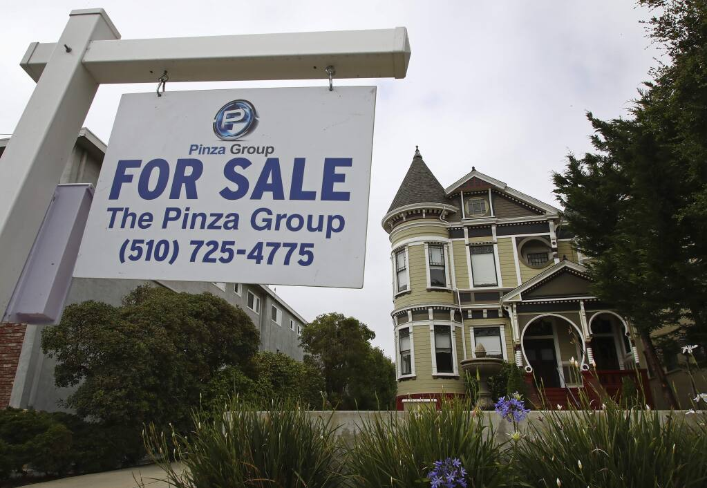 Proposition 5 on the Nov. 6 ballot would create a new property tax break for homeowners 55 and older. (BEN MARGOT / Associated Press)