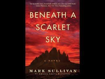 """Beneath A Scarlet Sky"" is the Amazon bestselling historical novel that author Mark Sullivan based on the extraordinary life during World War II of an Italian teenager, Pino Lella. (Amazon)"