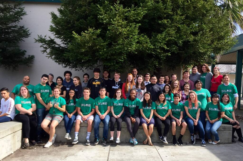 The PLUS team at SVHS includes almost 40 students as well as teachers and staff.