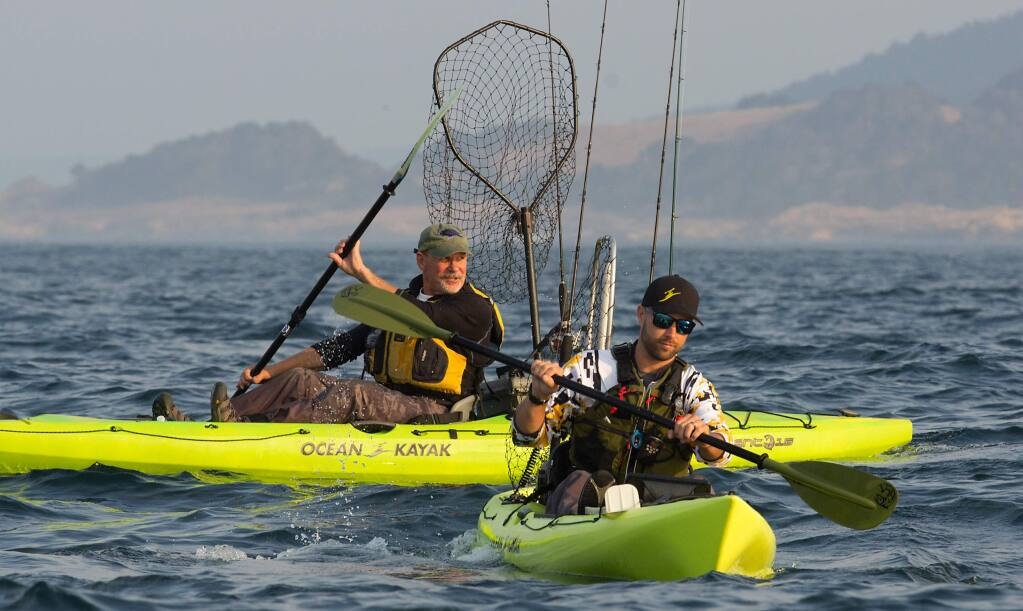 Kayak Fishing Has Strong Following Among Sonoma Coast Anglers