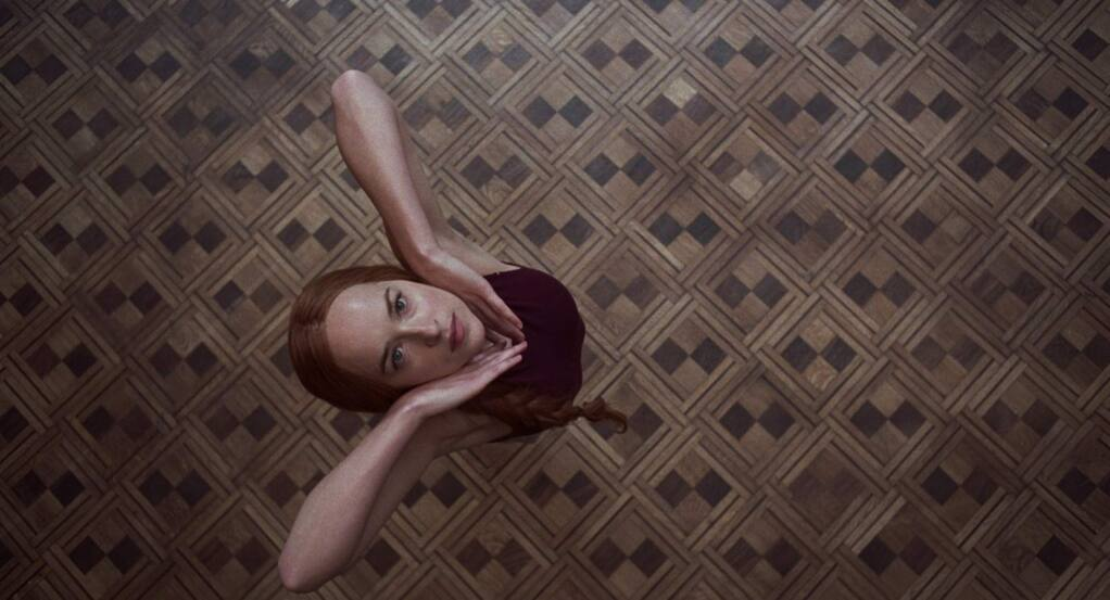 A darkness swirls at the center of a world-renowned dance company, one that will engulf the troupes artistic director (Tilda Swinton), an ambitious young dancer Dakota (Johnson, pictured), and a grieving psychotherapist named Dr. Jozef Klemperer in the horror mystery 'Suspiria.' Some will succumb to the nightmare. Others will finally wake up. (Amazon Studios)