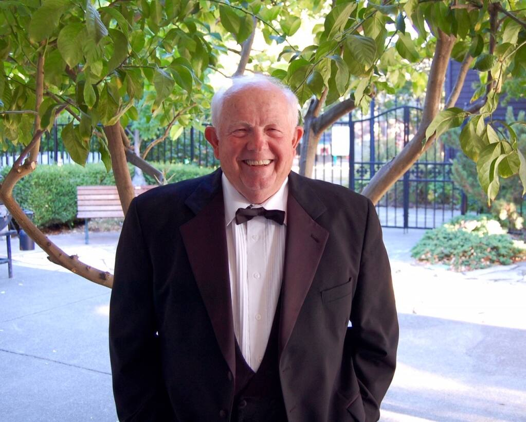 """This year's Redwood Empire """"Sing-Along Messiah"""" will be a YouTube presentation, hosted by longtime conductor, Dan Earl.  (Santa Rosa Symphony League)"""