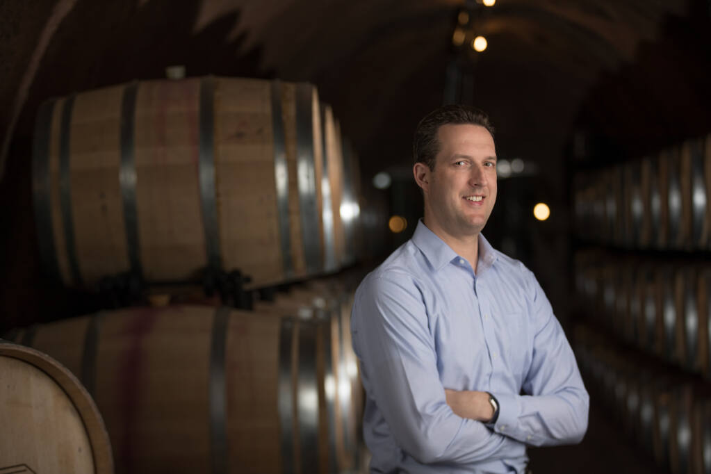 Matthew Owings is promoted to chief operating officer at Rombauer Vineyards. (Widly Simple Productions photo)