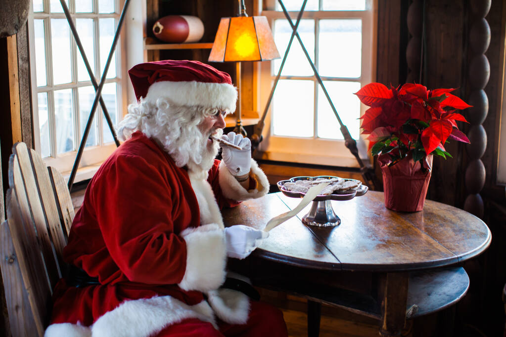 Santa will be visiting Nick's Cove seafood restaurant on Dec. 6. (Kellie Delario / Nick's Cove)