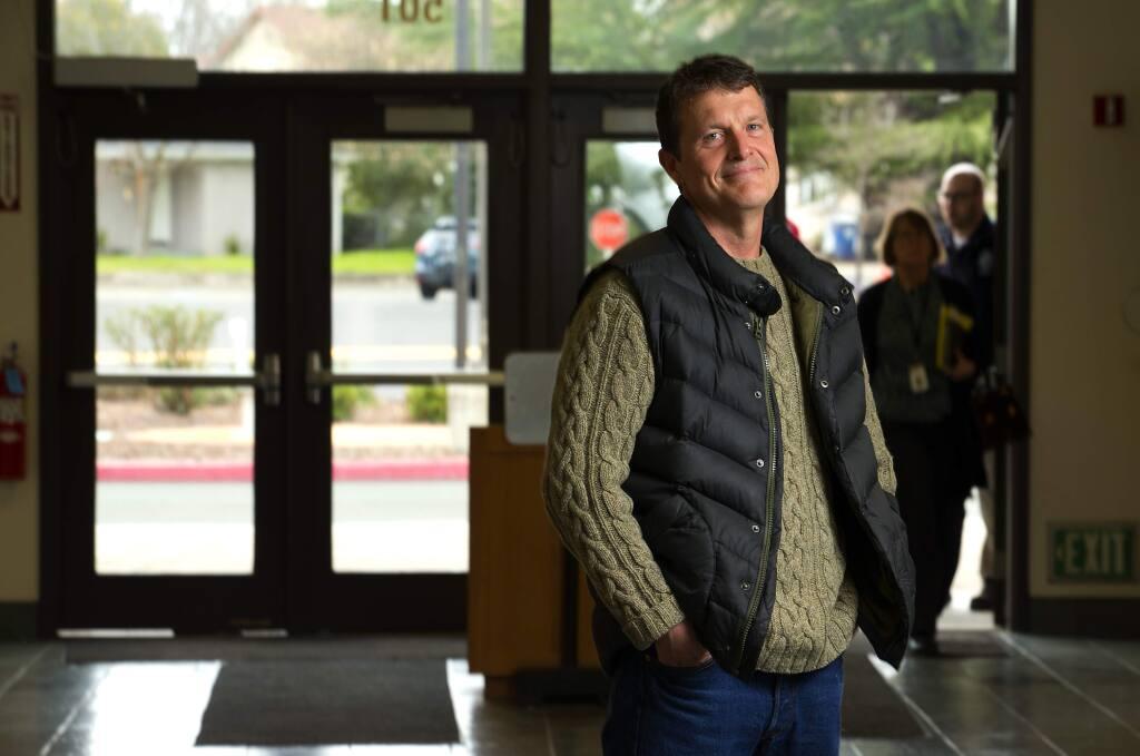 Mendocino County cannabis program manager, Kelly Overton. (photo by John Burgess/The Press Democrat)