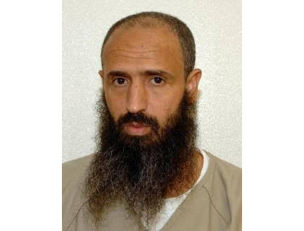 This undated photo released by lawyer Shelby Sullivan-Bennis on Dec. 11, 2017 shows his client Abdullatif Nasser at the Guantanamo Bay detention center in Guantanamo Bay, Cuba. The Biden administration on Monday, July 19, 2021, transferred a detainee out of the Guantánamo Bay detention facility for the first time, sending the Moroccan man back home years after he was recommended for discharge. Nasser, who's in his mid-50s, was cleared for repatriation by a review board in July 2016 but remained at Guantanamo for the duration of the Trump presidency. (Shelby Sullivan-Bennis via AP)