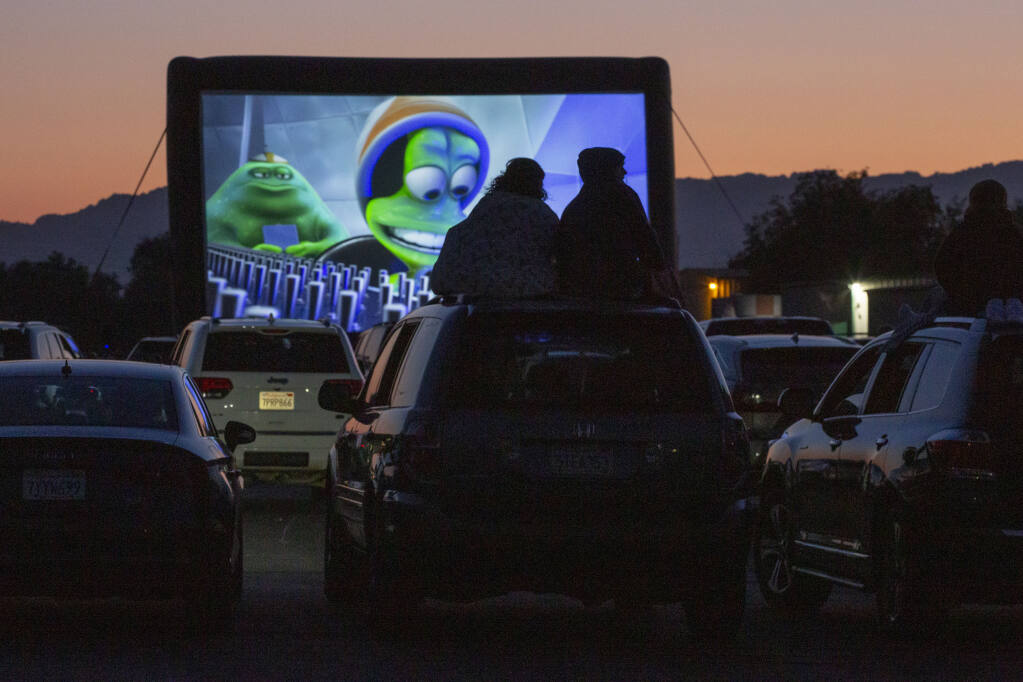 The Sonoma International Film Festival kicks off March 24 and will include a handful of drive-in movies at the Sonoma Skypark on Eighth Street East, like last year's festival. (Photo by Robbi Pengelly/Index-Tribune)