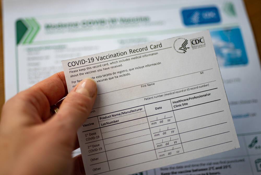 DOJ: Napa doctor sold fake COVID-19 vaccine cards