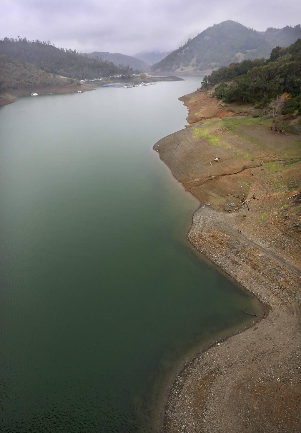 Lake Sonoma. (JOHN BURGESS / The Press Democrat)