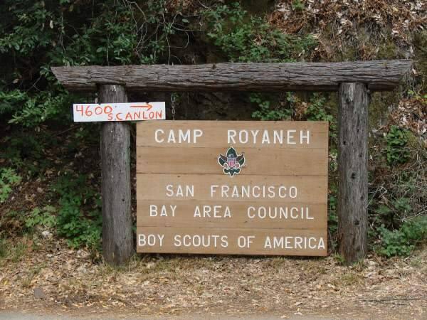 Camp Royaneh in Cazadero. (San Francisco Bay Area Council)