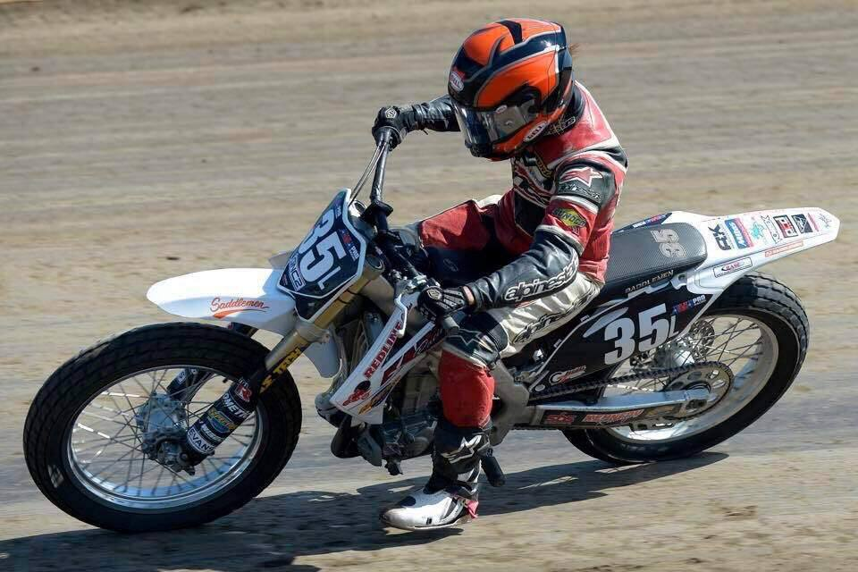 Motorcycle racer Charlotte Kainz died in a crash at Sonoma County Fairgrounds on Sunday, Sept. 25, 2016. (WWW.FACEBOOK.COM)