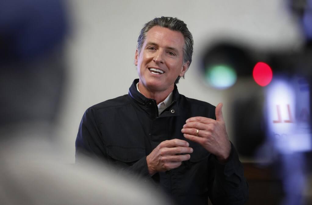California Gov. Gavin Newsom  (Al Seib/Los Angeles Times/TNS)