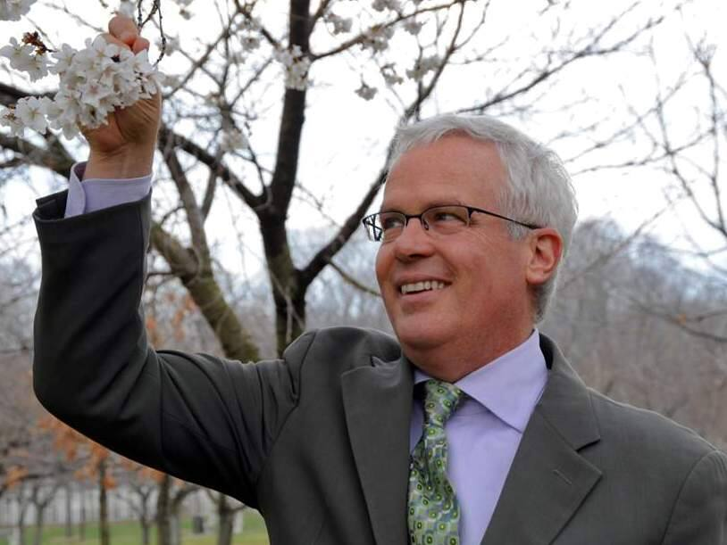Scot Medbury, current president of Brooklyn Botanic Garden, has been named the new executive director for Quarryhill Botanical Garden in Sonoma Valley. (BROOKLYN BOTANIC GARDEN)