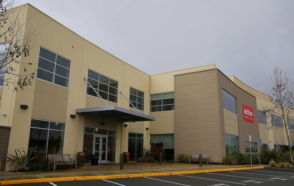 St. Joseph Health is buying the Active Sports Club, in Petaluma.(Christopher Chung/ The Press Democrat)
