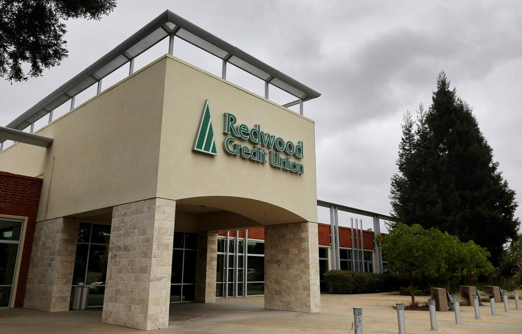 Redwood Credit Union headquarters in Santa Rosa (Christopher Chung/ The Press Democrat)