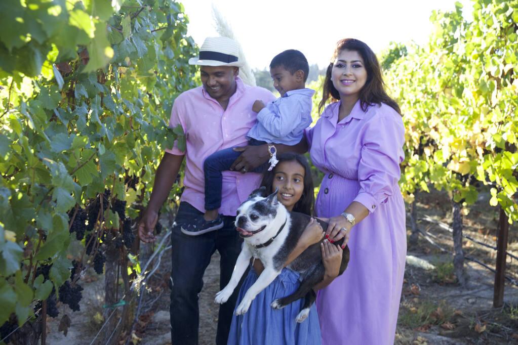 Vintner Raghni Naidu bought a vineyard property in Sebastopol and produces her namesake label: Naidu Wines. (Kaare Iverson Photography)