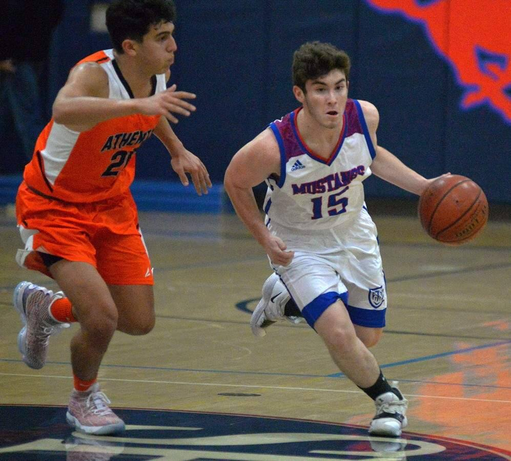 SUMNER FOWLER/FOR THE ARGUS-COURIERSt. Vincent's Mustangs charge into three tournaments in as many weeks, starting with the Redwood Classic at Anderson Valley High School in Boonville Thursday.