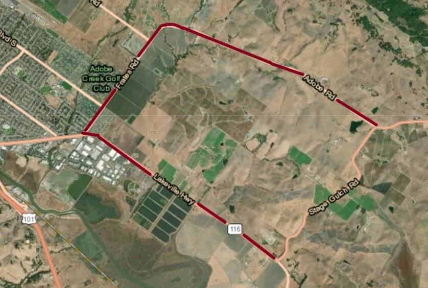 The detour route for the areas to be repaved starting this week. (CALTRANS)
