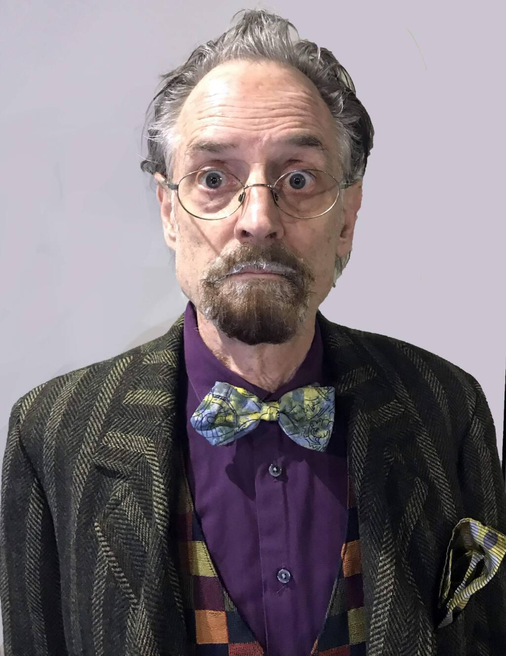 John Craven stars in the political farce 'Accidental Death of an Anarchist' at Main Stage West in Sebastopol. (Elizabeth Craven)
