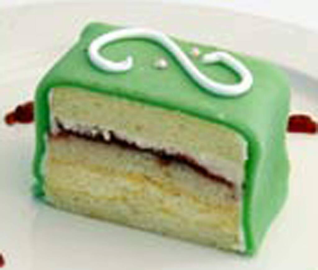 Princess Cake from Costeaux French Bakery.Costeaux