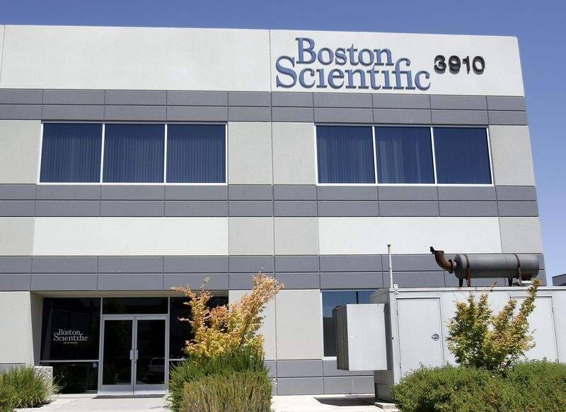 Boston Scientific building at 3910 Brickway Blvd., Santa Rosa, on June 15, 2006. (Press Democrat / Jeff Kan Lee)