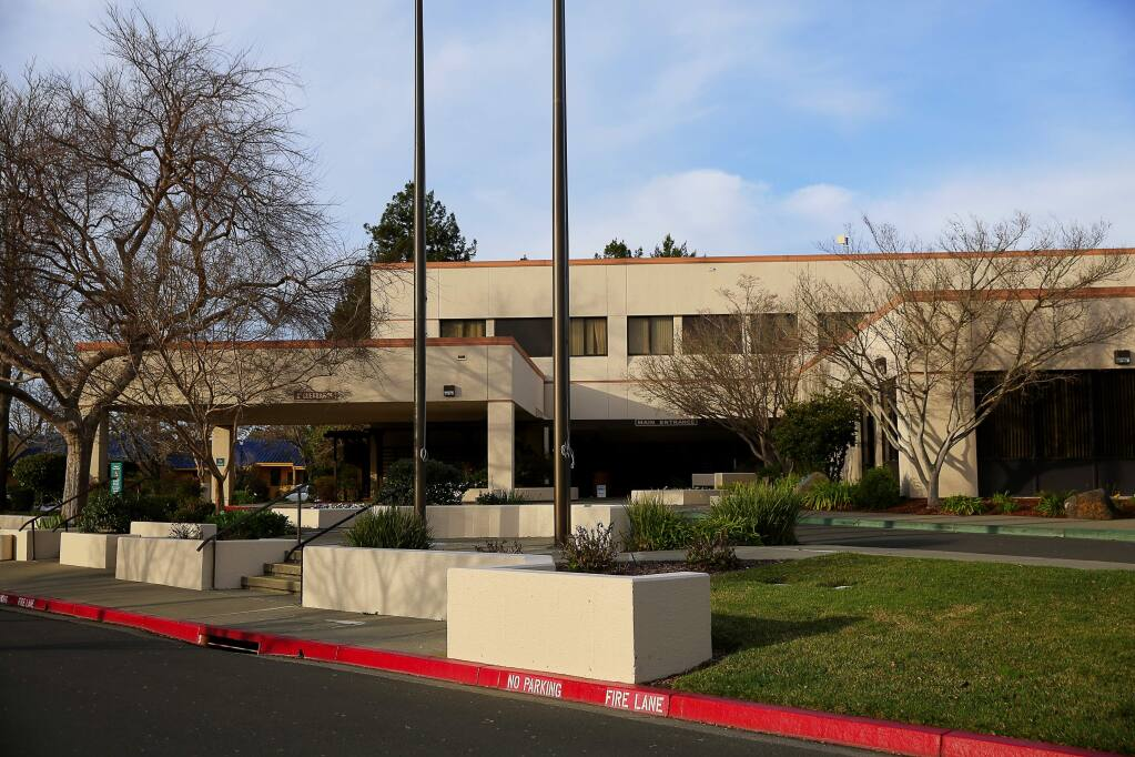 Petaluma Valley Hospital in Petaluma on Wednesday, Jan. 20, 2016. (Christopher Chung/ The Press Democrat)