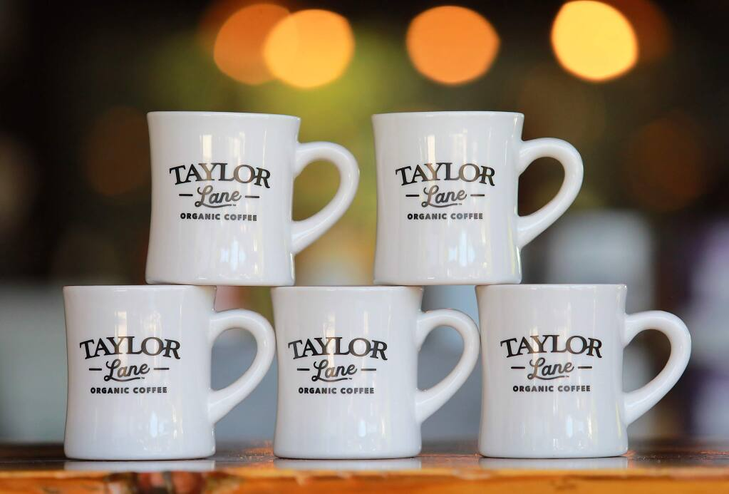 Taylor Maid Organic Coffee has changed their name to Taylor Lane on the 25th anniversary of the company. (John Burgess/The Press Democrat)