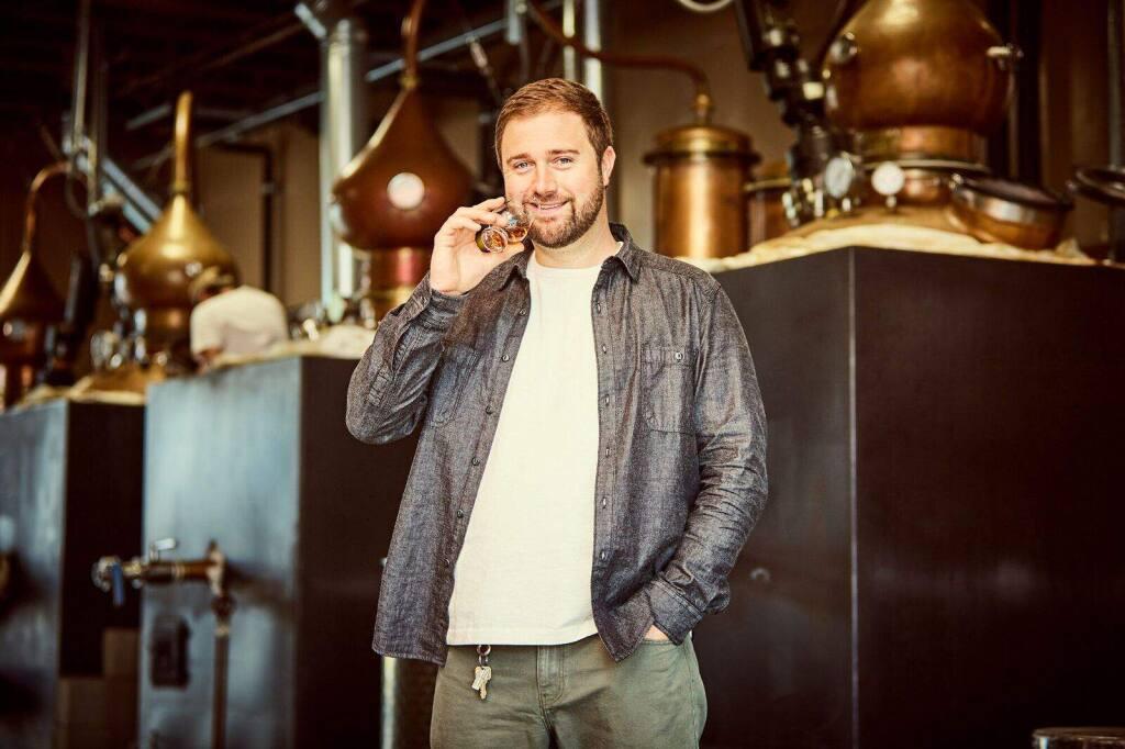 Adam Spiegel, founder, CEO and whiskeymaker, Sonoma Distilling Company (COURTESY OF SONOMA DISTILLING COMPANY)