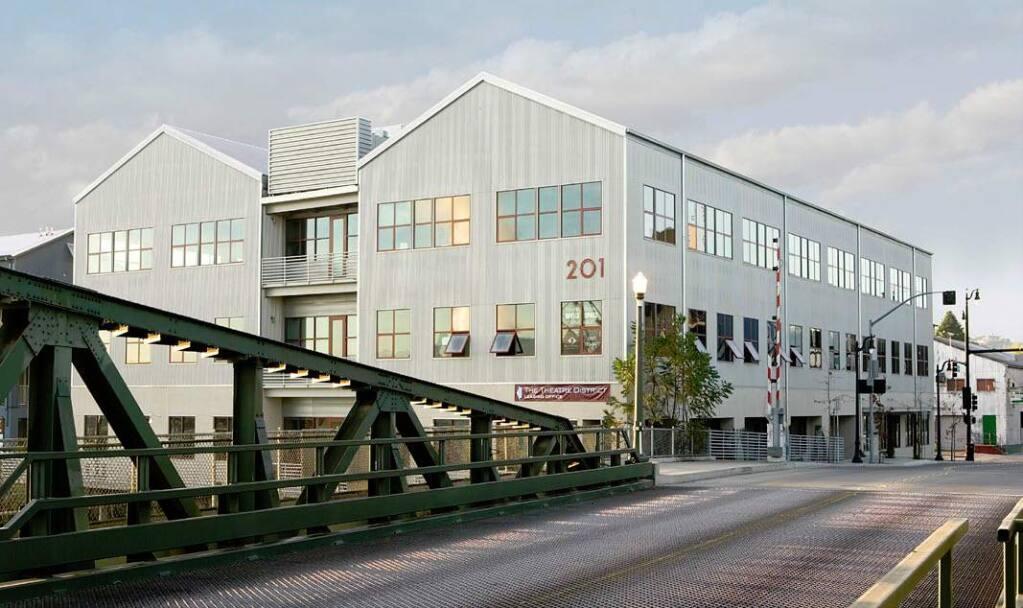 Waterfront Office Building in downtown Petaluma (Basin Street Properties)