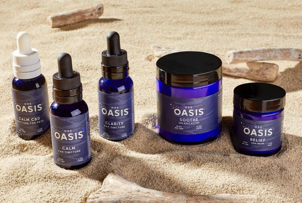 The new Oasis line from McEvoy Ranch.( FACEBOOK)