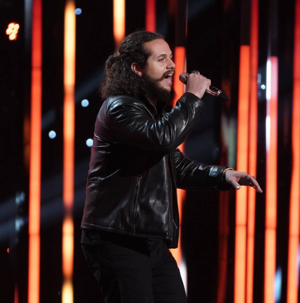 """Anthony Guzman won the right Monday to continue competing on ABC's """"American Idol."""" (Anthony Guzman)"""