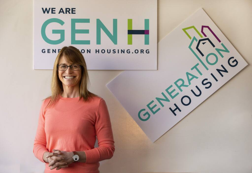 Jenni Klose won't seek reelection to the Santa Rosa City school board in order to focus on her new nonprofit housing advocacy group, Generation Housing. (JOHN BURGESS/ PD)