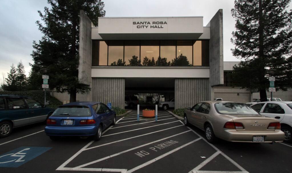 Santa Rosa City Hall (The Press Democrat, 2009)