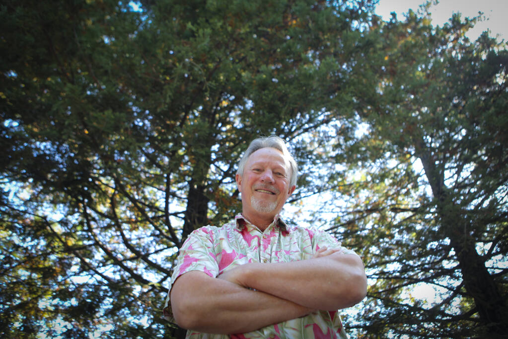 Dr. John Shribbs, chair of the City of Petaluma's Tree Committee and active member of the Petaluma Wetlands Alliance and ReLeaf Petaluma is a horticulturist. He encourages and teaches about the importance of caring for trees. (CRISSY PASCUAL/ARGUS-COURIER STAFF)