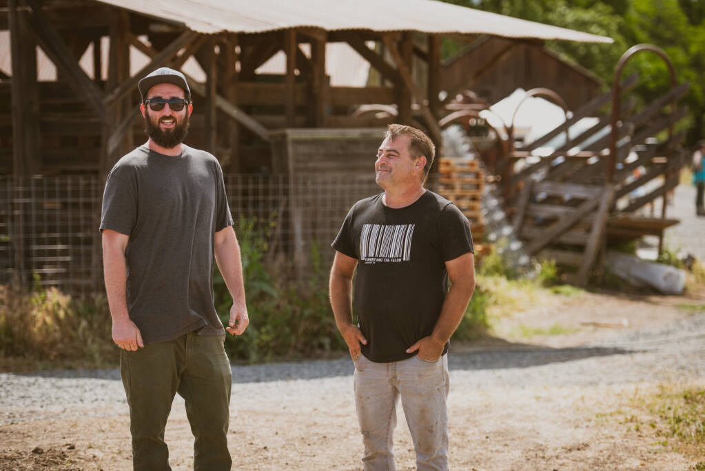 CannaCraft co-founders Ned Fussell, pictured at left, and Dennis Hunter want to help inmates with cannabis-related offenses by supporting the Last Prisoner Project. (Jon Lohne photo)