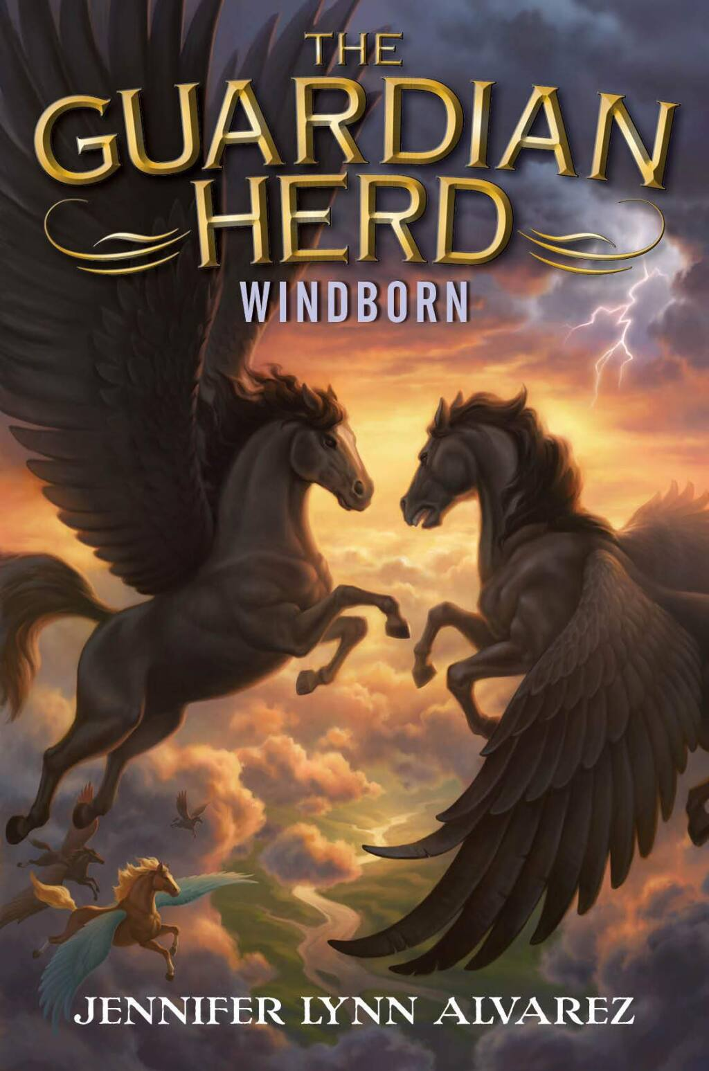 "The cover for Jennifer Lynn Alvarez'supcoming fourth book, ""WIndborn"""