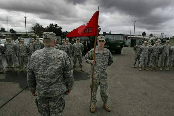 235th Engineer Company Based In Petaluma Will Dig Up Ieds In Afghanistan For A Year