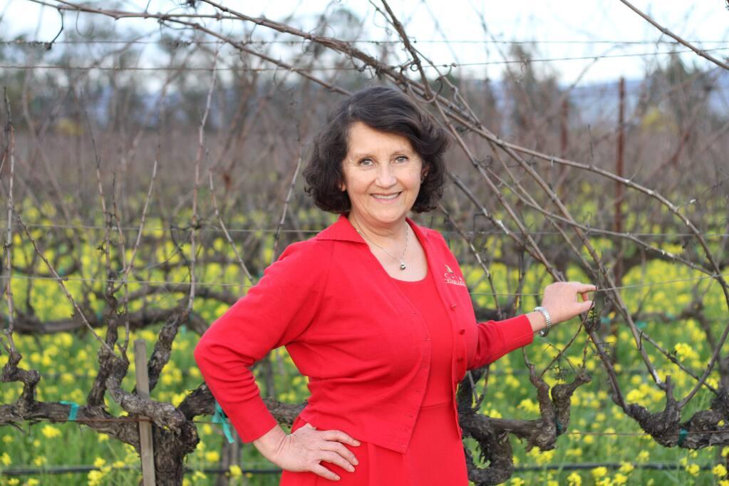 Amelia Moran Ceja is the president of Ceja Vineyards in Sonoma. (Ceja Vineyards)